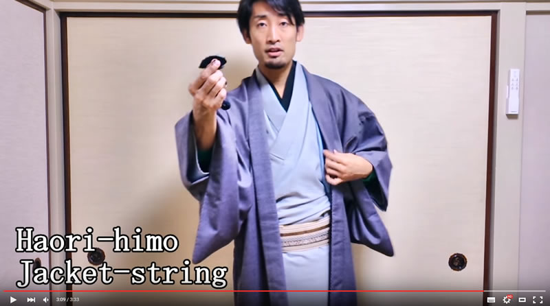 Questions & Answers about Kimono, on Youtube video