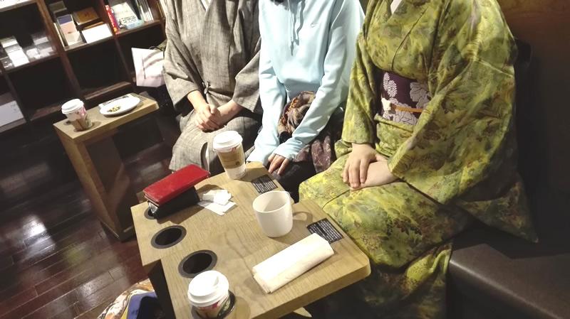 イベントレポート:第3回着物を着ない会@六本木ヒルズTSUTAYAのスタバ