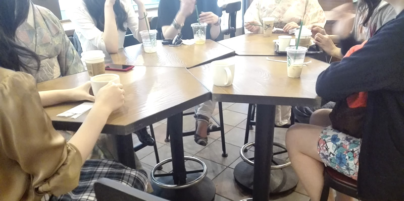 イベント告知:着物を着ない会 2016/11/20(日) 品川スタバ→フリマ