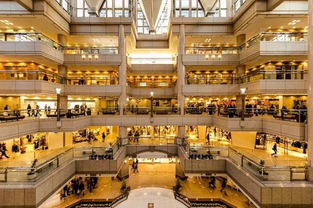 大規模なショッピングモール、ランドマークプラザ-4532