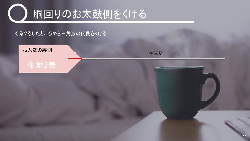 名古屋帯の作り方 表生地が小さいとき v2 - 20181114 (11)