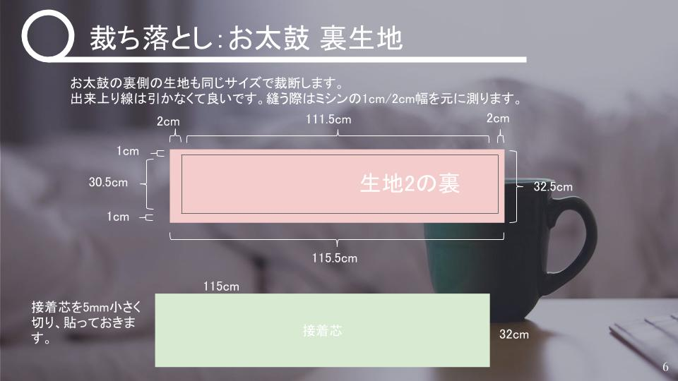 名古屋帯の作り方 リバーシブル v2 - 20181115 (5)