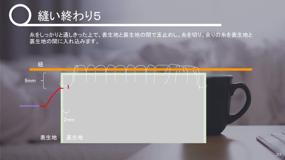 茶碗の仕覆の作り方 中級 v1 - 20210427 (19)