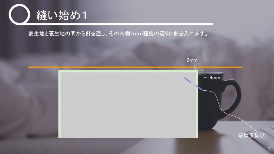 茶碗の仕覆の作り方 中級 v1 - 20210427 (4)