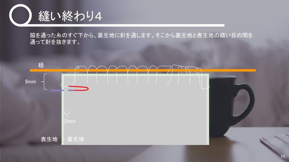 茶碗の仕覆の作り方 中級 v1 - 20210427 (18)