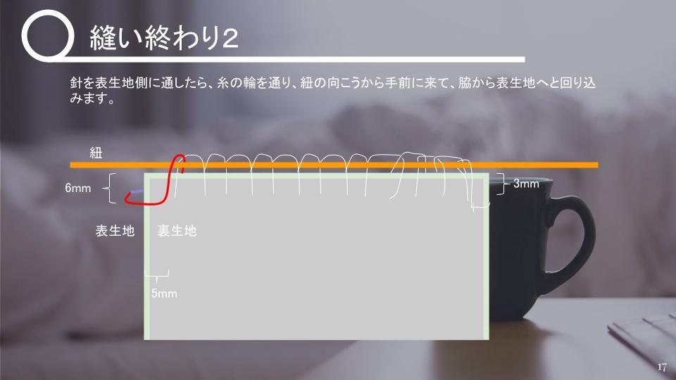 茶碗の仕覆の作り方 中級 v1 - 20210427 (16)
